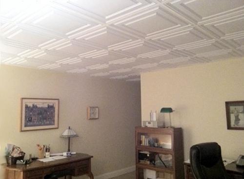 потолочная плитка без швов
