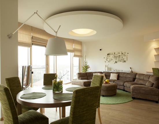 на фото дизайн гипсовых потолоков