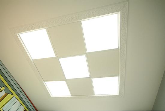 подвесной потолок армстронг на фото