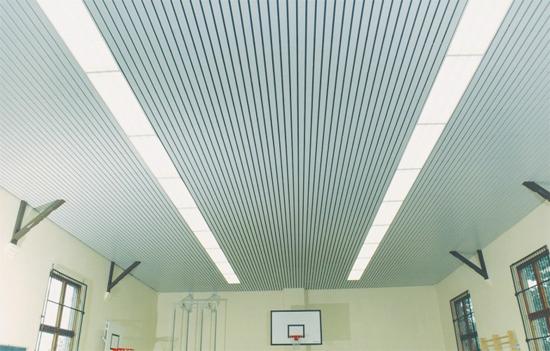фото подвесного потолка реечного бард