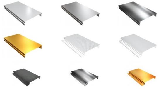 примеры реечных потолков на фото