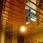 Реечные подвесные потолки для ванной комнаты
