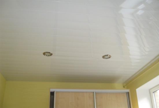 реечный навесной потолок видео
