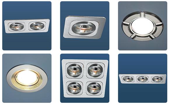 точечные светильники для реечных потолков