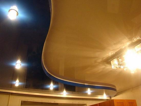 цвета натяжных потолков