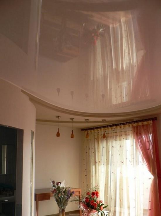 навесные потолки на кухне