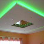 Как сделать подсветку потолка