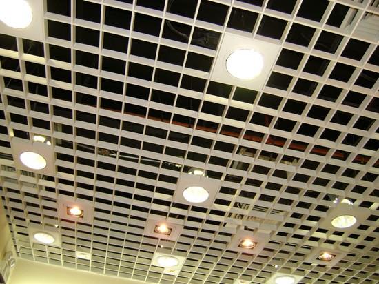 потолки грильято подвесные