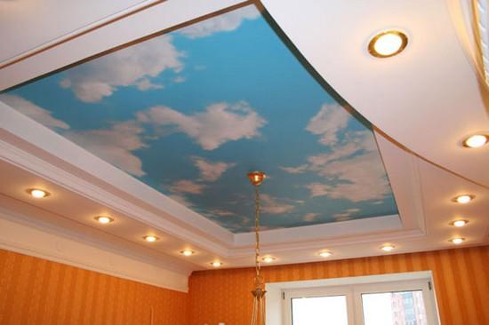Навесные потолки гипсокартона своими руками