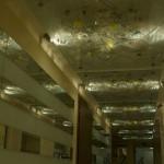 Подвесные стеклянные потолки
