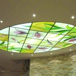 Витражные подвесные потолки