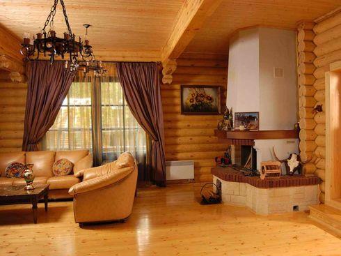 Дизайн в деревянных домах
