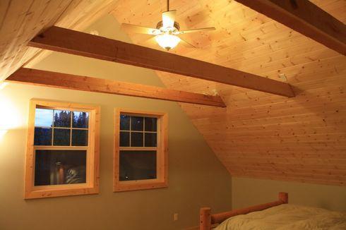 фото деревянного потолка