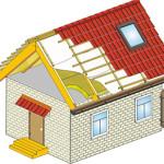 Пароизоляция потолка в деревянном доме