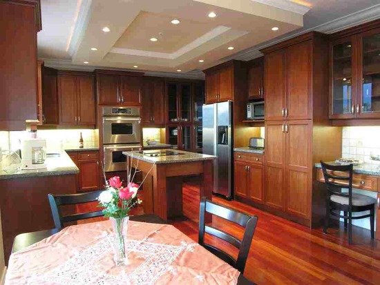 подвесные потолки кухня: