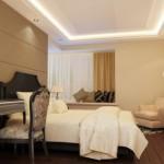 Как сделать потолки в спальне