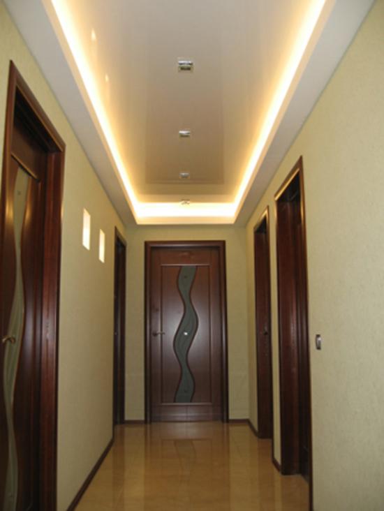 Дизайн освещения потолков натяжных потолков