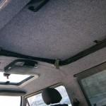 Перетяжка потолка салона автомобиля