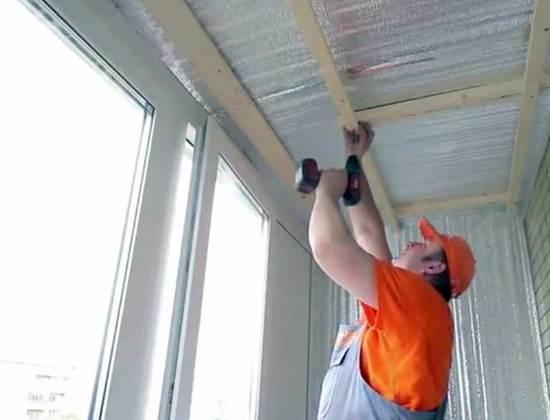 Обрешетка на потолок для пластиковых панелей. как сделать