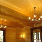 Чем обшить потолок на даче