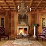 Потолок под дерево – это аристократично