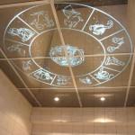 Как сделать декоративные узоры на потолке