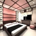 Делаем потолок в японском стиле