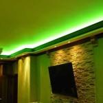 Скрытая подсветка потолка из гипсокартона: красивое освещение