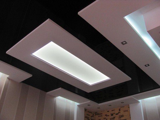 световые панели для потолка ванна