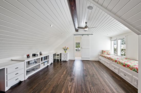 Как делать потолки на мансарде на фото мансардные потолки