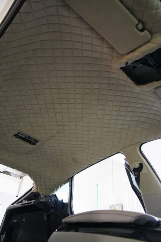 Как перетянуть потолка авто своими руками 821