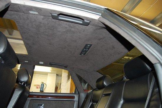 Садовая Как перетянуть потолок в автомобиле своими