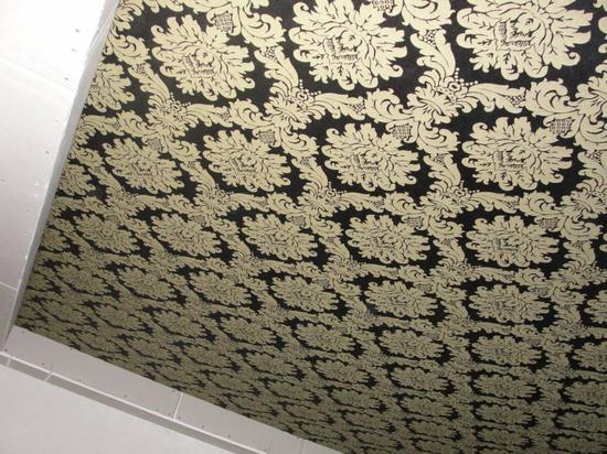Инструкция с фото как сделать потолок из ткани своими руками