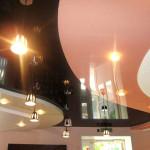 Двухцветные потолки: варианты — натяжные, из панелей или из гипсокартона