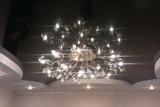 Купить точечные светильники для натяжных потолков