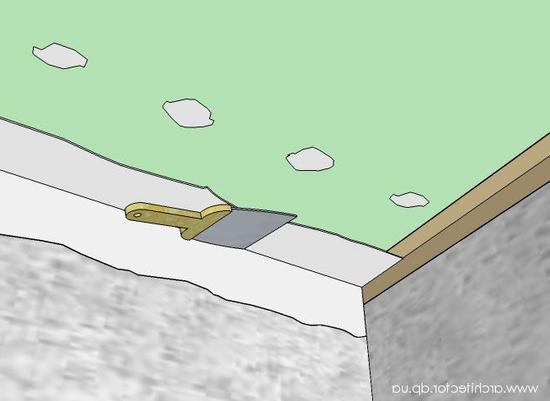 Шпаклёвка потолка под покраску своими руками фото 978