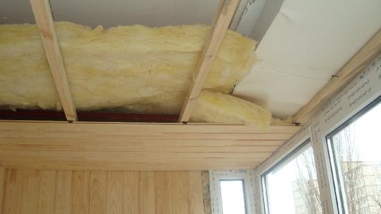 Утепление деревянного потолка своими руками 917