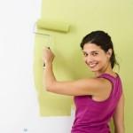 Как выбрать моющуюся краску для потолков