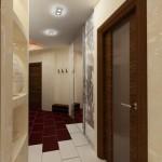 Как выглядит дизайн потолка в прихожей