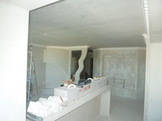 Шпаклёвка потолка под покраску своими руками фото 542