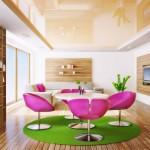 Цветовая гамма натяжных потолков и из гипсоркатона