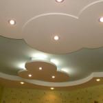 Как оформить потолок в детской комнате