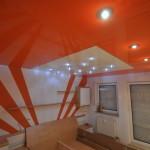 Натяжные потолки с фотопечатью в интерьере