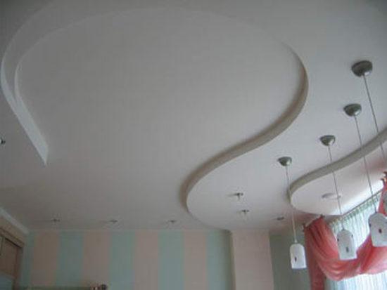 подвесные потолки из гипсокартона запорожье 5