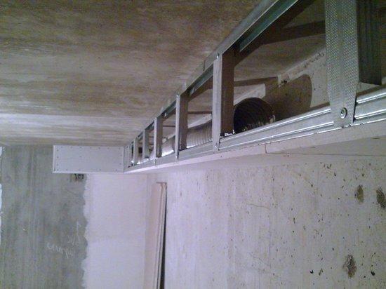 Как сделать на потолке короб 60