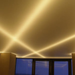 Подробное устройство потолка из гипсокартона с подсветкой