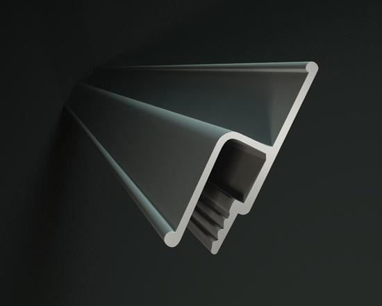 Декоративная заглушка черная матовая WL08-70-11 4690389097515