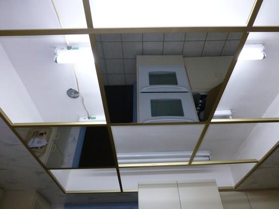 Зеркальные панели на потолок - что нам предлагает