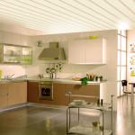 Выбираем фото идеи пластиковых потолков на кухне