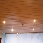 Как обшить потолок панелями ПВХ или МДФ